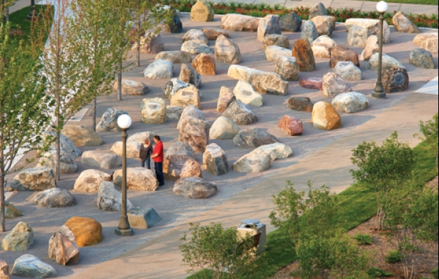 Stabilizer solutions minnesota military family tribute features stabilized crushed stone garden workwithnaturefo