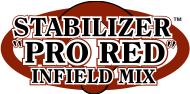 Stabilizer Pro Red Infield Mix logo